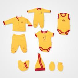İmaj Badili Taraftar Bebek Takımı - Sarı Kırmızı