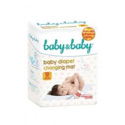 Baby & Baby Bebek Bakım Örtüsü 60x60 Cm 10 Adet Temizlik & Bakım Ürünleri