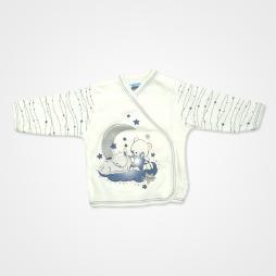 Hoppidik Simli Ay Yıldız Hastane Çıkış Seti 11'li - Mavi Bebek Giyim