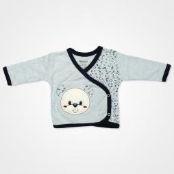 Miniworld Hop Kabartmalı Ayıcıklı Hastane Çıkış Seti 10'lu - Mavi Bebek Giyim