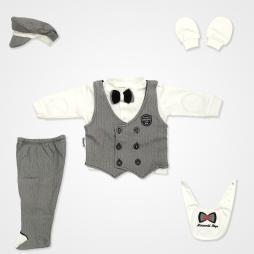 Miniworld Perfect Gentleman Hastane Çıkış Seti 6'lı - Siyah