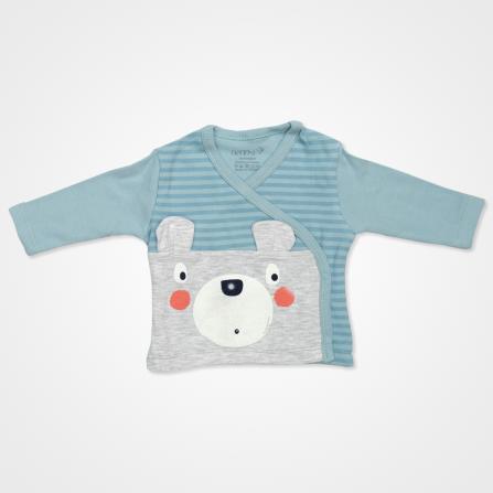 Nenny Baby Şaşkın Ayıcık Hastane Çıkış Seti 10'lu - Yeşil Bebek Giyim