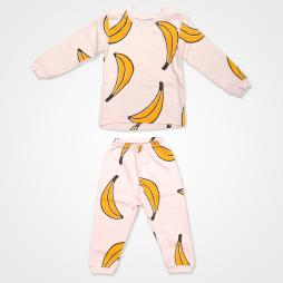 My Jully Muz Baskılı Bebek Pijama Takımı - Pembe Bebek Giyim