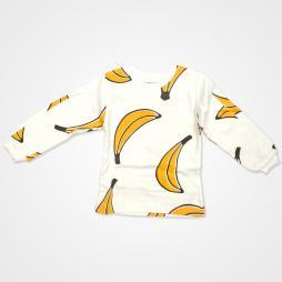 My Jully Muz Baskılı Bebek Pijama Takımı - Beyaz Bebek Giyim