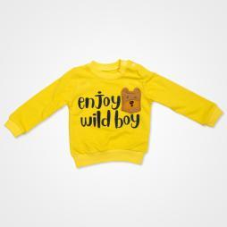 Anılço Baby Enjoy Wild Boy Mevsimlik Bebek Takımı 2'li - Sarı Bebek Giyim