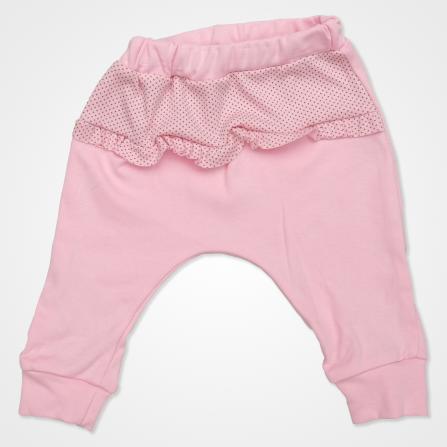 Hippıl Baby Kapşonlu Şişme Yelekli Bebek Takımı 3 Parça - Pembe Bebek Giyim