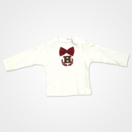 Hippıl Baby Papyonlu Yelekli Bebek Takımı 3 Parça - Bordo Bebek Giyim