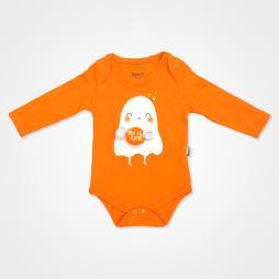 Miniworld Boo I'm Cute Badili Bebek Takımı 3 Parça - Turuncu Bebek Giyim