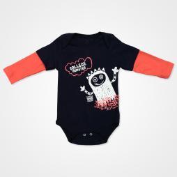 Miniworld College Monster Badili Bebek Takımı 3 Parça - Yeni Oranj Bebek Giyim