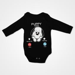 Miniworld Puppy Mobile Badili Bebek Takımı 3 Parça - Kar Melanj Bebek Giyim