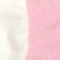 Nurcix Baby Welsoft Tavşan Bebek Yeleği - Pembe Bebek Giyim