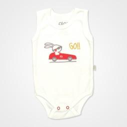 Pino Baby Araba Nakışlı Çıtçıtlı Bebek Zıbın Seti 3'lü - Araba Baskılı Bebek Giyim